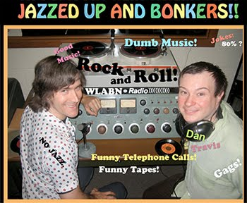 Jazzed Up & Bonkers on Real Punk Radio, TONIGHT, 7:00pm ET/4:00pm PT!