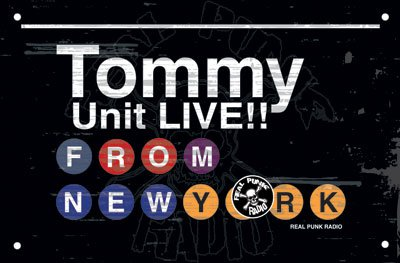 Tommy Unit LIVE!! #125 – Jan 23, 2013